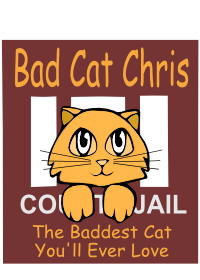 Bad Cat Chris logo